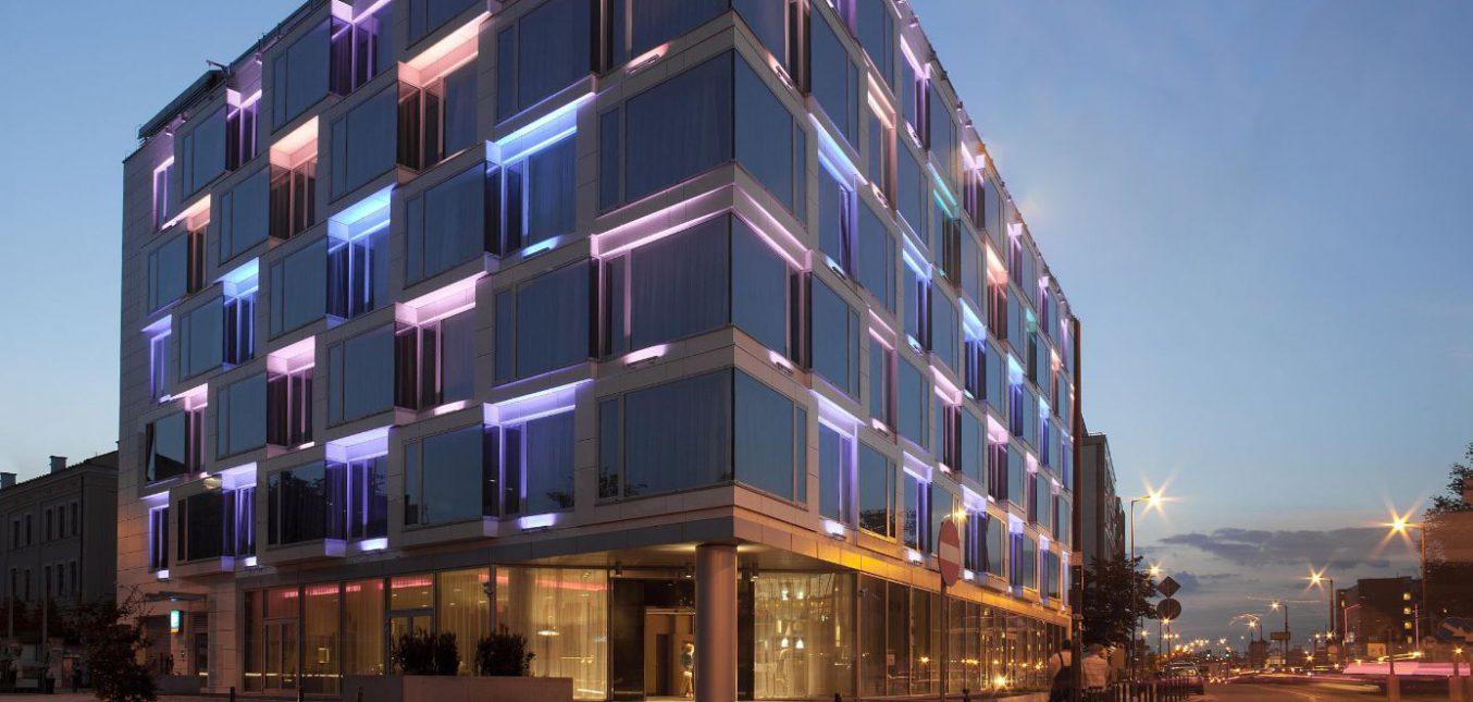 Przebudowa Hotelu Puro przy ulicy Ogrodowej w Krakowie
